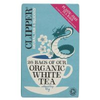 Clipper Organic White Tea 6 x 26 Bags